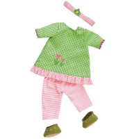 Waldorf Puppenkleidung Organic - Frühlingstraum