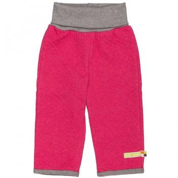 Doubleface griffige Hose mit Softbund pink