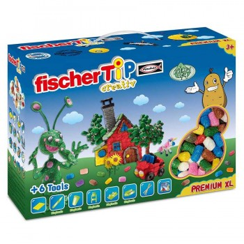 Fischer Tip Box Premium XL mit Zubehör 1200 Teile