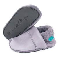 Kindergarten Schuhe mitwachsend super soft grau