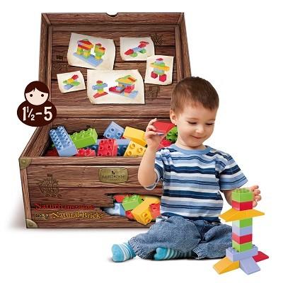 Spielzeug-fuer-Kinder-ab-18-Monate-von-Luckys-Naturbausteinen-bei-greenstories