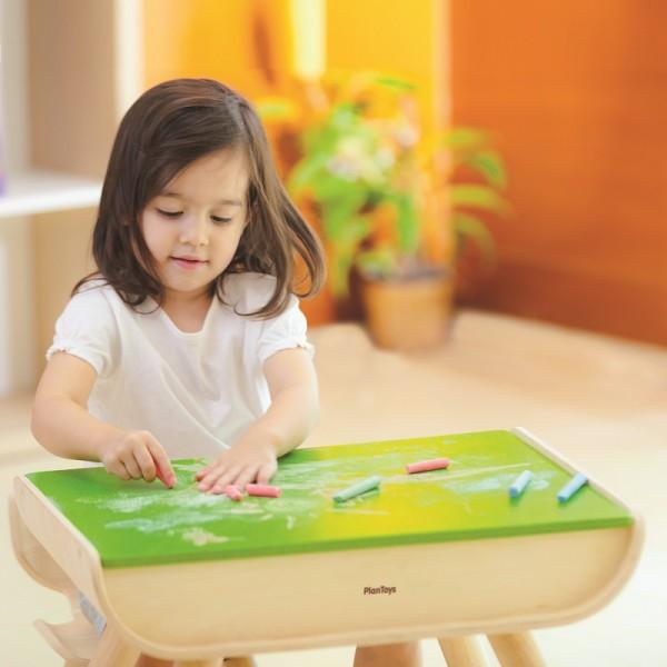 Kindertisch Basteltisch bemalbar