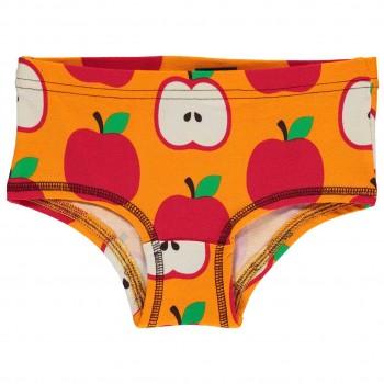 Mädchen Hipster Apfel in orange-rot
