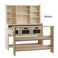 """Vorschau: Holzboxen mit Tafelfolie, z.B. für Kaufladen """"Theo"""""""