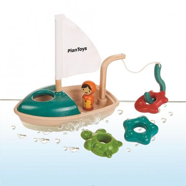 Fischerboot Badespaß