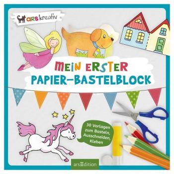 Bastelblock – 40 Bastelideen für Kinder ab 3 Jahren