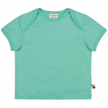 Leichtes Uni Kurzarm Shirt Basic in mint
