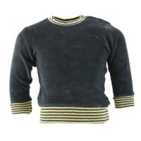 Vorschau: Langarmshirt warmer Nicki & Druckknöpfe