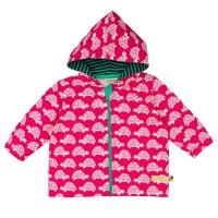 Vorschau: Jacke mit Abperleffekt für Sommer & Übergangszeit pink