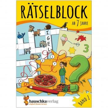Rätselblock – Rätselspaß für Kinder ab 7 Jahre Bd 1