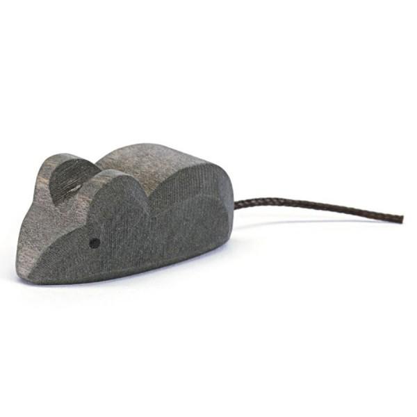 Maus für die Spielwelt Holzfigur 1,5 cm hoch