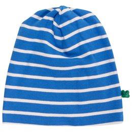 Elastische softe Beanie unisex blau