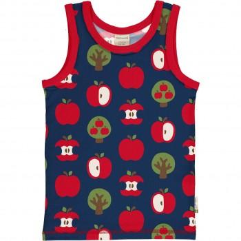 Unterhemd Äpfel in marine