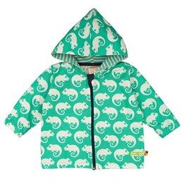 Jacke mit Abperleffekt für Sommer & Übergangszeit grün