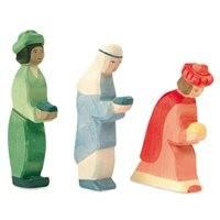 Heilige 3 Könige für Miniatur Weihnachtskrippe