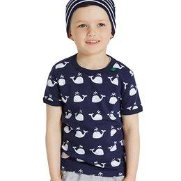 Wale T-Shirt unisex navy