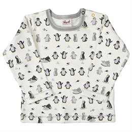 Bio Baby Shirt Interlock Pinguine
