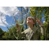 Vorschau: Riesen Seifenblasen mit Stange Seil und Konzentrat 5 Liter