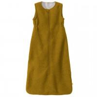 Babyschlafsack Schurwolle gold-gelb