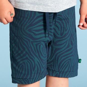 Leichte Jersey Safari Shorts dunkelblau