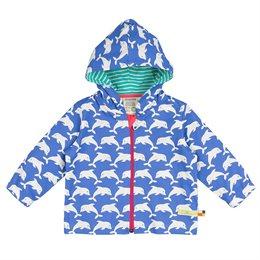 Bio Sommerjacke Delfin blau