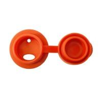 Vorschau: Edelstahl Sportflasche Sportverschluss 325 ml orange