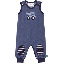 Jeans Baby Strampler Kipper