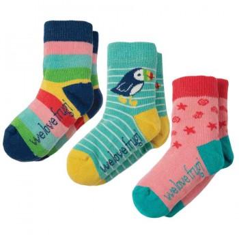 Mädchen Baby Socken 3er Pack Papageitaucher