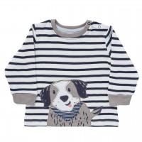 etwas dickeres Shirt Hundewelpe geringelt