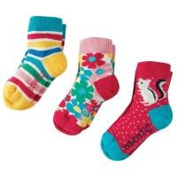 Kinder Bio Frugi Socken Blumen