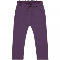 Lockere Interlock Babyhose in lila