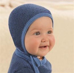 Neugeborenen Strick Häubchen warm