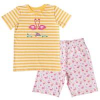 Süsser Sommer Flamingo Schlafanzug
