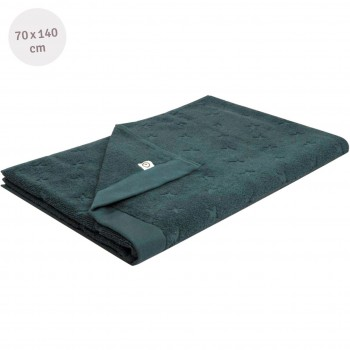 Frottee Badetuch navy 70x140