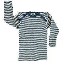 Wolle Seide atmungsaktives Langarmshirt für alle Fälle
