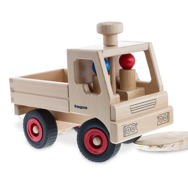 Holzfigur für FAGUS Fahrzeuge Fahrzeuge