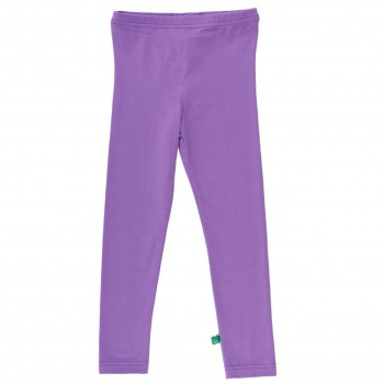 Basic Kinder Leggings in lila