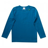 Deep Blue Langarmshirt Basic