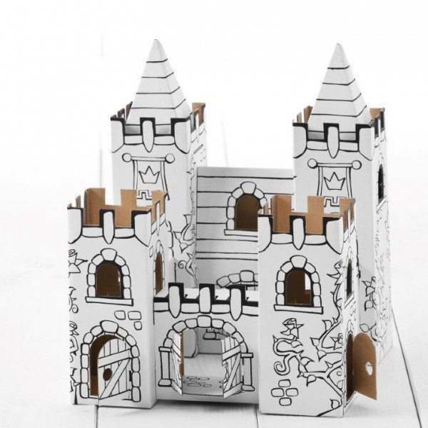 Schloss Rosengarten zum Stecken, malen & spielen