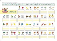 Vorschau: ABC Lerntafel abwischbar ab 5 Jahre