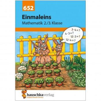 Einmaleins Übungen Mathe Klasse 2 & 3