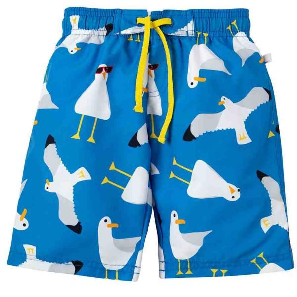 Jungen Badehose Möwen blau