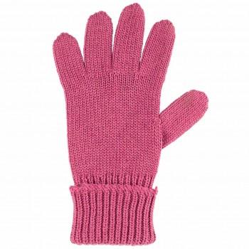 Kinder Handschuhe fuchsia Strick