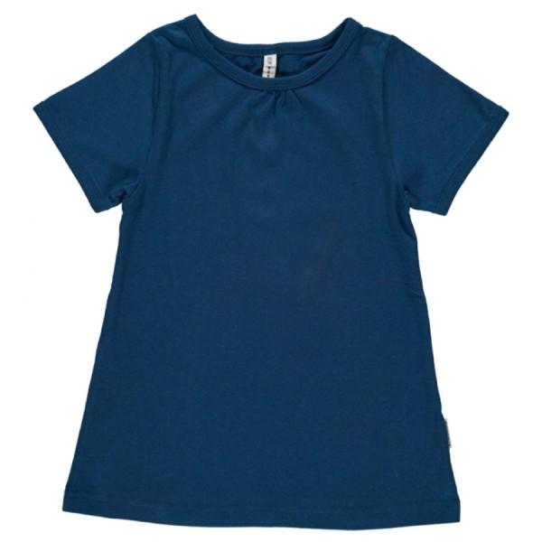 94f894b69c31 A-Schnitt Mädchen Shirt super soft marine   greenstories