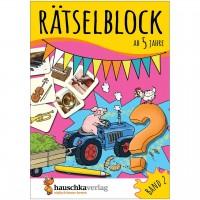 Rätselblock – Rätselspaß für Kinder ab 5 Jahre Bd 2