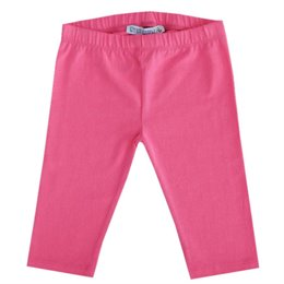 Pinke glatte 3/4 Leggings