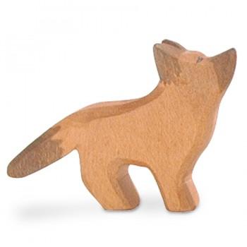 Schäferhund Welpe Holzfigur 5,5 cm hoch