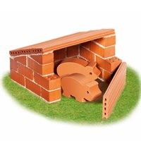 Steinbaukasten Starter Set Schweinestall