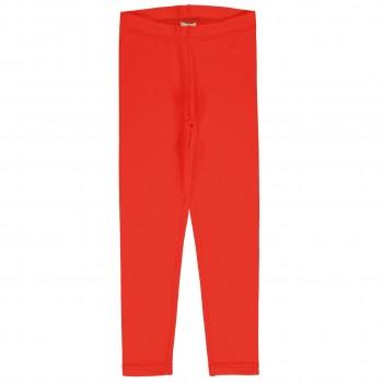 Uni Jersey Leggings in leuchtendem rot