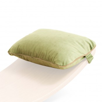 Wobbel Kissen Original uni Oatmeal pastell-grün